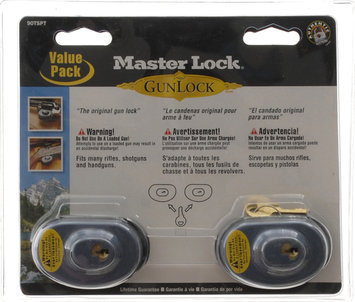 Master Lock Keyed Gun Lock, 2-Pack