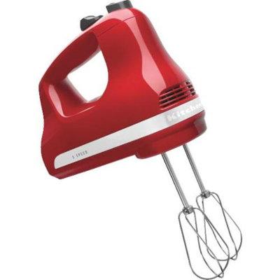 KitchenAid 5-Speed Hand Mixer- Empire Red KHM512