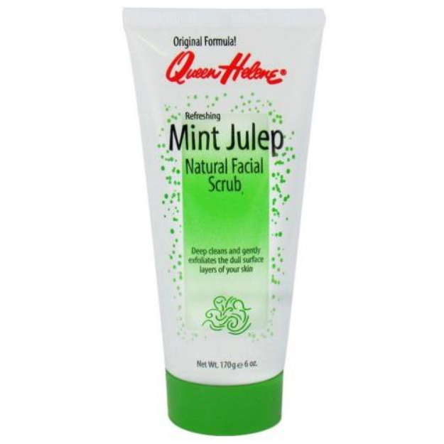 Queen Helene Refreshing Mint Julep Natural Facial Scrub