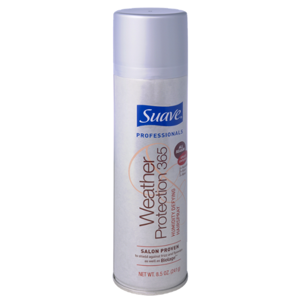 Suave Professionals Weather Protection 365 Humidity Defying Hairspray