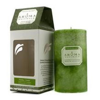 Aroma Naturals Authentic Aromatherapy Candles Ambiance (Orange & Lemongrass) (2.75X5) Inch