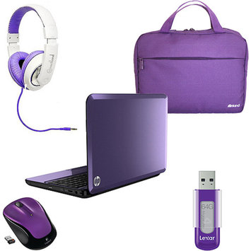 The PURPLE Laptop Bundle with optional matching accessories