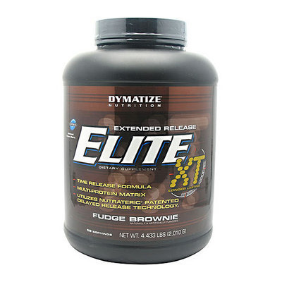Dymatize Extended Release Elite XT Fudge Brownie Dietary Supplement