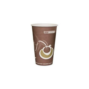 Eco-Products EPBRHC16EW Evolution World 24% PCF Hot Drink Cups- 16 oz. - Purple- 1000/Carton
