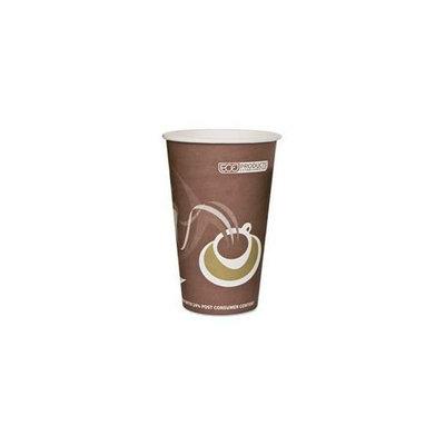 Eco-Products EPBRHC16EW Evolution World 24% PCF Hot Drink Cups- 16 oz. - Purple- 1000/Carton
