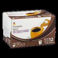 Ahold Light Roast Arabica Coffee Single-Serve Cups Pumpkin Spice - 12 PK