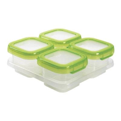 OXO tot Baby Blocks Freezer Storage Containers (4-4oz Blocks)