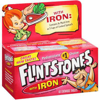 Flintstones With Iron Children's Multivitamin 60 ct