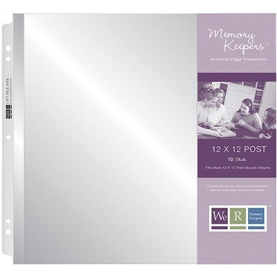 We R Memory Keepers Post Page Protectors 12