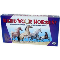 Herd Your Horses Board Game Ages 7-12, 1 ea