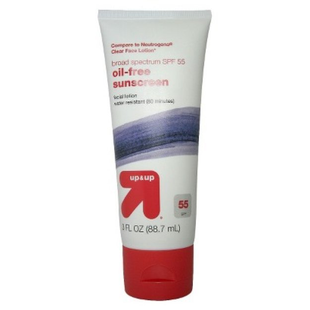 up & up Clear Skin Lotion with SPF 55 - 3 oz