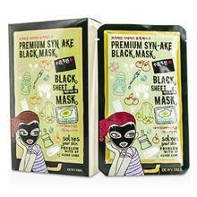 Dewytree - Black Sheet Mask - Honey Moist - 10x30g/1oz Eminence Citrus and Kale Potent C Plus E Serum, 1 Ounce