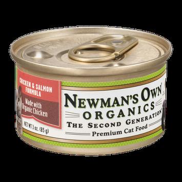 Newman's Own Organics Premium Cat Food Chicken & Salmon Formula