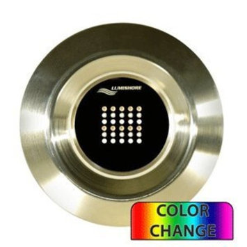 Lumishore Thru-Hull Flush Fit Color Change Underwater Light - Single - 72W