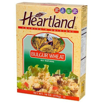 Heartland Bulgur Wheat, 18-Ounce Boxes (Pack of 6)