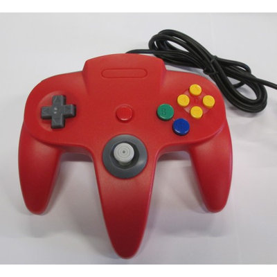 Nintendo N64 Red Replacement Controller by Mars Devices