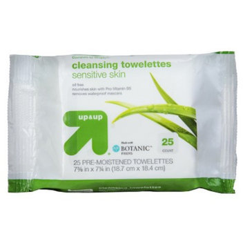 up & up 25 ct Wipe Basic Cleansing Facial Cleansing Wipes