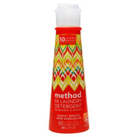 method liquid laundry detergent sunset breeze