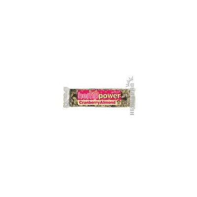 Ruths Hemp Foods Hemp Creative Energy Bars, Softhemp Cranberry Almond 12xBAR