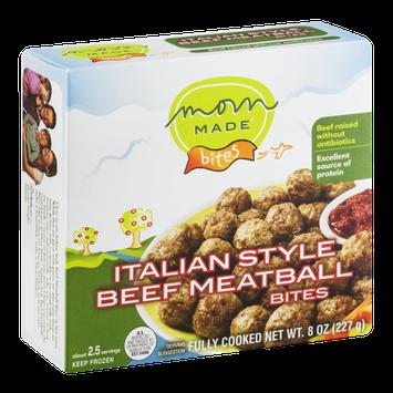 Mom Made Bites Italian Style Beef Meatball