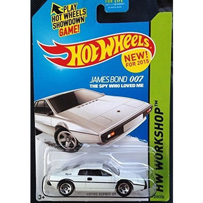 Hot Wheels 205 Lotus Esprit S1 James Bond The Spy Who Loved Me HW Workshop 219/250
