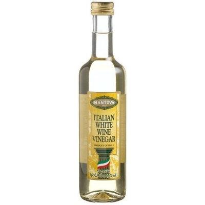 Mantova Italian White Wine Vinegar, 17-Ounce Bottles (Pack of 4)