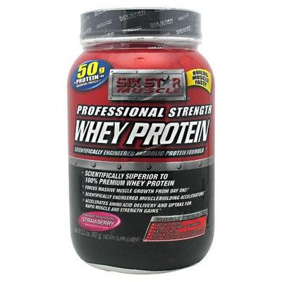 Six Star Muscle Building Six Star Body Fuel Advanced Whey Protein, Vanilla , 32 oz (2 lb) 907 g