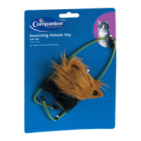 Companion Cat Toy Bouncing Mouse Toy