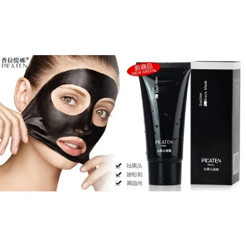 Genuine by Tarad Siam PILATEN blackhead remover,Tearing style Deep Cleansing purifying peel off the Black head,acne treatment,black mud face mask 60g