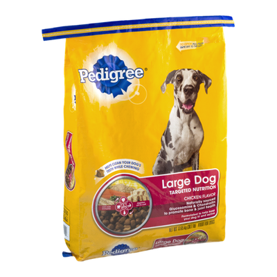Pedigree Dog Food Large Dog Targeted Nutrition Chicken