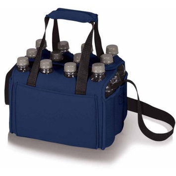 Picnic Time Twelve Pack Portable Beverage Tote - Navy