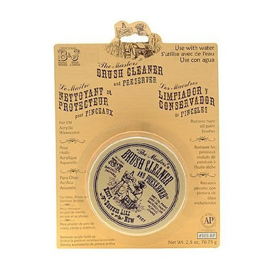 Masters Brush Cleaner and Preserver 2 1/2 oz.