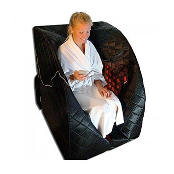 Therasage Ps2002 Portable Far Infrared Sauna, Black, Large
