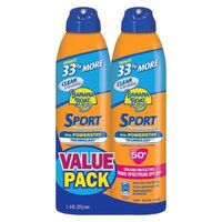 BANANA BOAT Banana Boat Sport Performance Sunscreen Spray with SPF 50+ - 8 oz