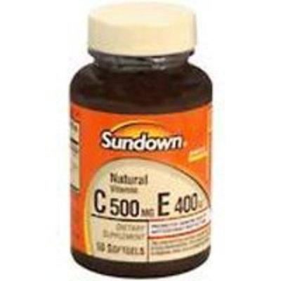 Sundown Naturals Vitamin C & E SOFTGELS SDWN Size: 50