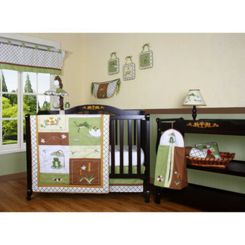 Geenny Boutique New Froggy Froggie 13 Piece Crib Bedding Set