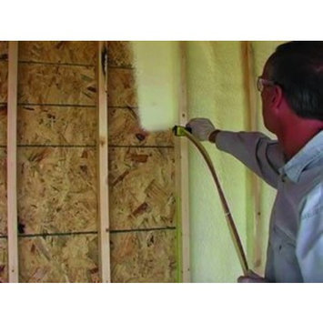 Battic Door Two-Component Fire Retardant Polyurethane Foam Kit 600 Board Feet