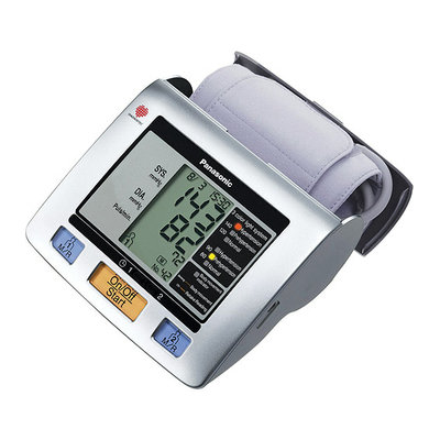 Panasonic EW3122S Upper Arm Blood Pressure Monitor Silver