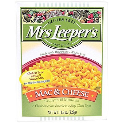 Mrs. Leepers Pasta Mrs. Leeper's Gluten Free Mac and Cheese, 11.6 Ounce