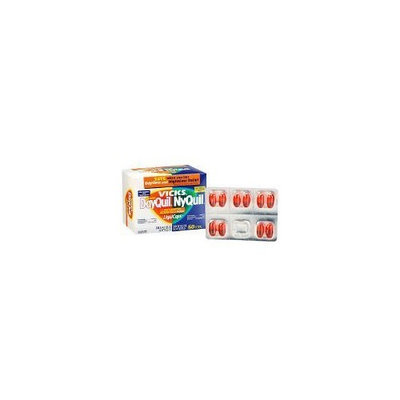Dayquil/Nyquil-Vicks Cold/Flu Relief Medication, 60 Liquid Gels