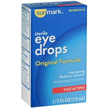Sunmark Artificial Tears Lubricant Eye Drops 0.5oz