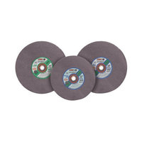 CGW Abrasives Type 1 Cut-Off Wheels, High Speed Gas Saws - 14x5/32x1 a24-r-bf metalcutoff bld