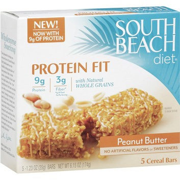 South Beach Diet Peanut Butter Cereal Bars