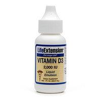 Life Extension Vitamin D3 with Sea-Iodine 5000