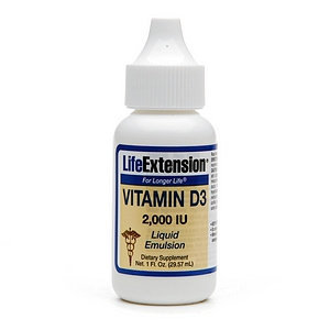 Life Extension Vitamin D3 with Sea-Iodine 5000
