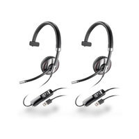 Plantronics Blackwire C710-M-2 Multipoint Over the Head Headsets (Microsoft Optimized)
