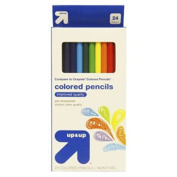 up & up - 24ct Colored Pencils