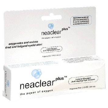 Neaclear Plus Liquid Oxygen Anti Aging Eye Cream 2-Ounce Package