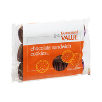 Guaranteed Value Chocolate Sandwich Cookies