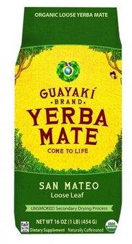 Guayaki Tea, San Mateo Loose Yerba Mate, 16 oz